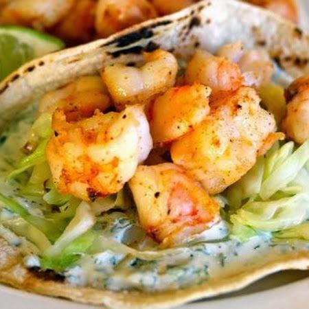 Super Simple Shrimp Tacos | Cocinando con Alena