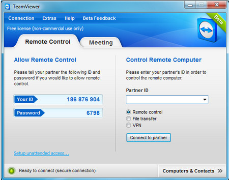 TeamViewer 7.0.12799 for Mac, Linux, Windows on Palupix