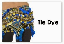 Tie Dye Hip Scarves