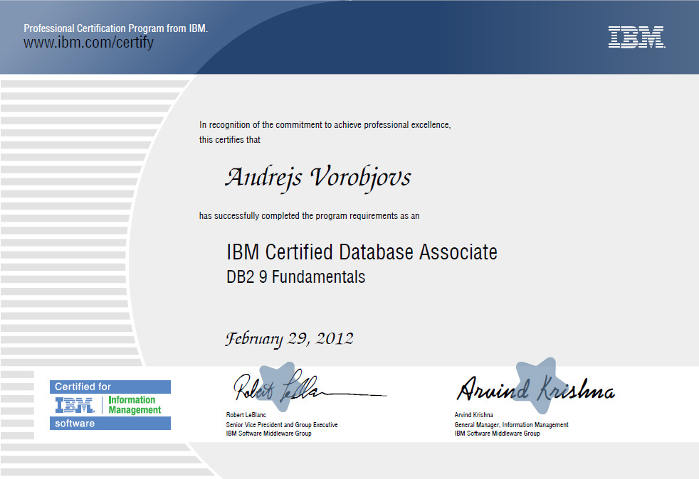 Andrejs Life With Oracle Knowledge Base First Step To Ibm
