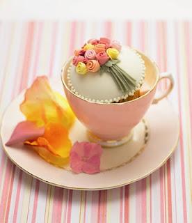 Tea cup cupcake