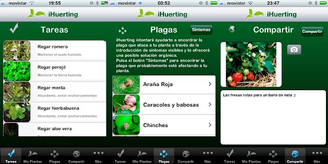 iHuerting, controla tu huerto desde tu iphone
