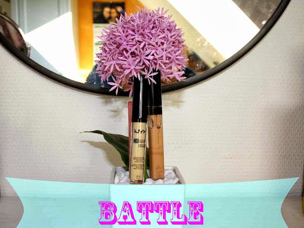 BATTLE: Fit me concealer by Maybelline vs. Photo ready HD Concealer by NYX
