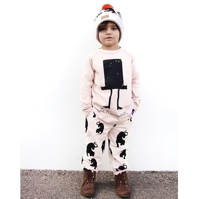 Little Cocoa Bean pre-spring 2015 - organic, monochrome kidswear