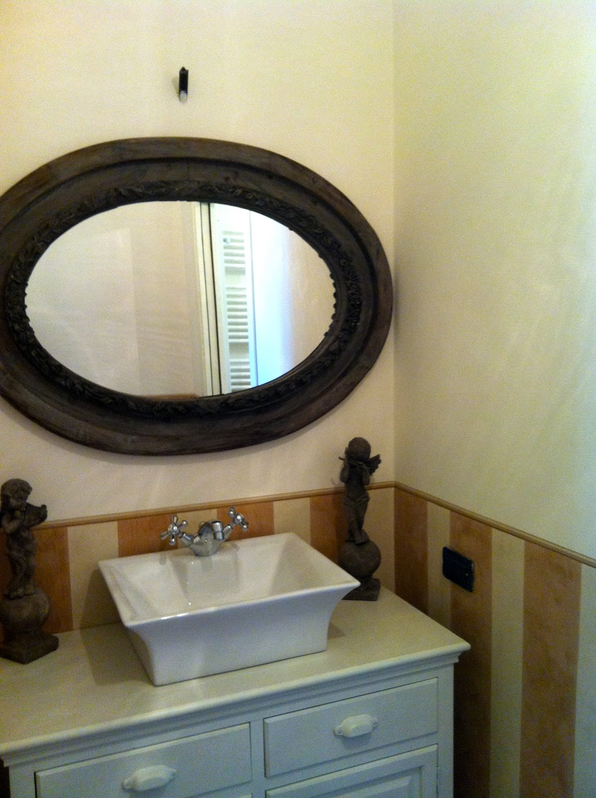 Ma maison agosto 2012 - Pittura lavabile bagno ...