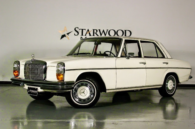 mercedes w114 250 automatic