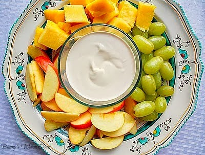 Easy delicious fruit dip