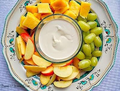 Easy delicious fruit dip