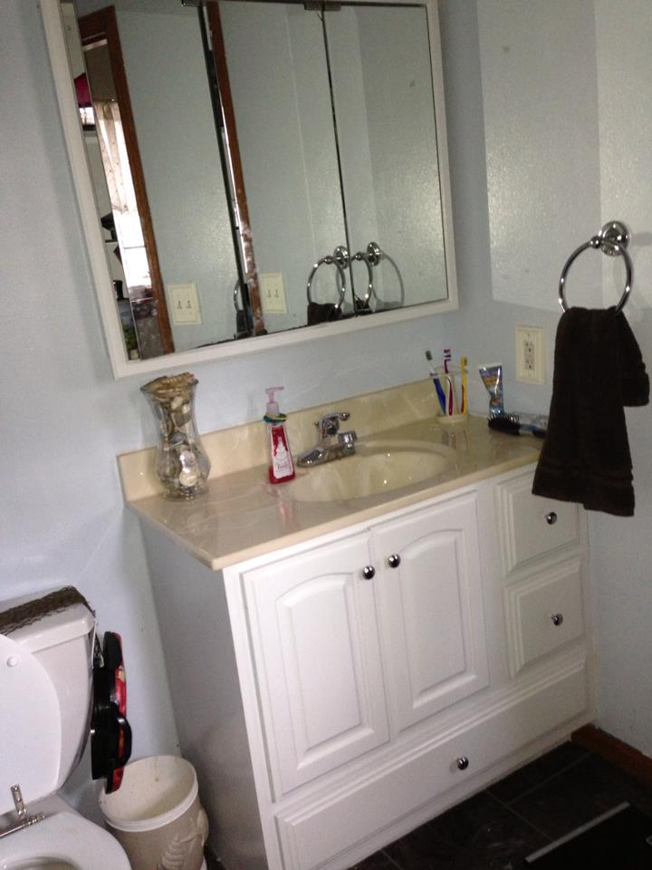... Reviews and Giveaways!: Nuvo Cabinet Paint: Before and after photos. #