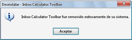 eliminar una barra de herramientas