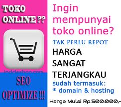 membuat web toko online murah