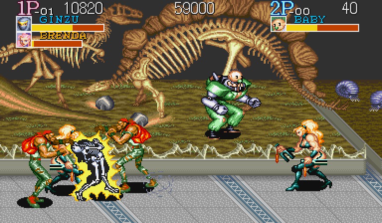 Game PS1 Terbaik Captain Commando
