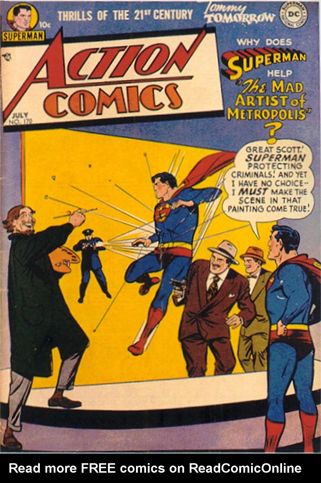 Action Comics (1938) 170 Page 1
