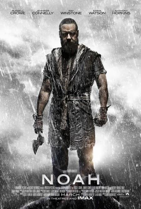 Russell Crowe, protagonista del segundo cartel de 'Noé'. MÁS CINE. Making Of