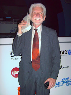 Designer of the first moble phone