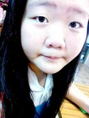 In school uniform