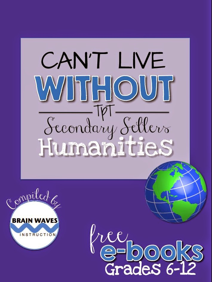 https://www.teacherspayteachers.com/Product/Free-Humanities-eBook-Social-Studies-ELA-Foreign-Language-Arts-1684365