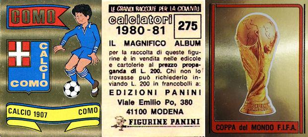 NUMERO 38 CESENA ODDI figurina CALCIATORI PANINI 1976//77 NEW