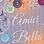 Amici Bello Blog Button