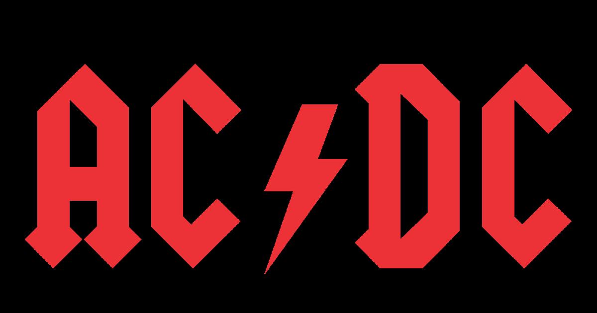 ac dc logo vector rock band format cdr ai eps svg
