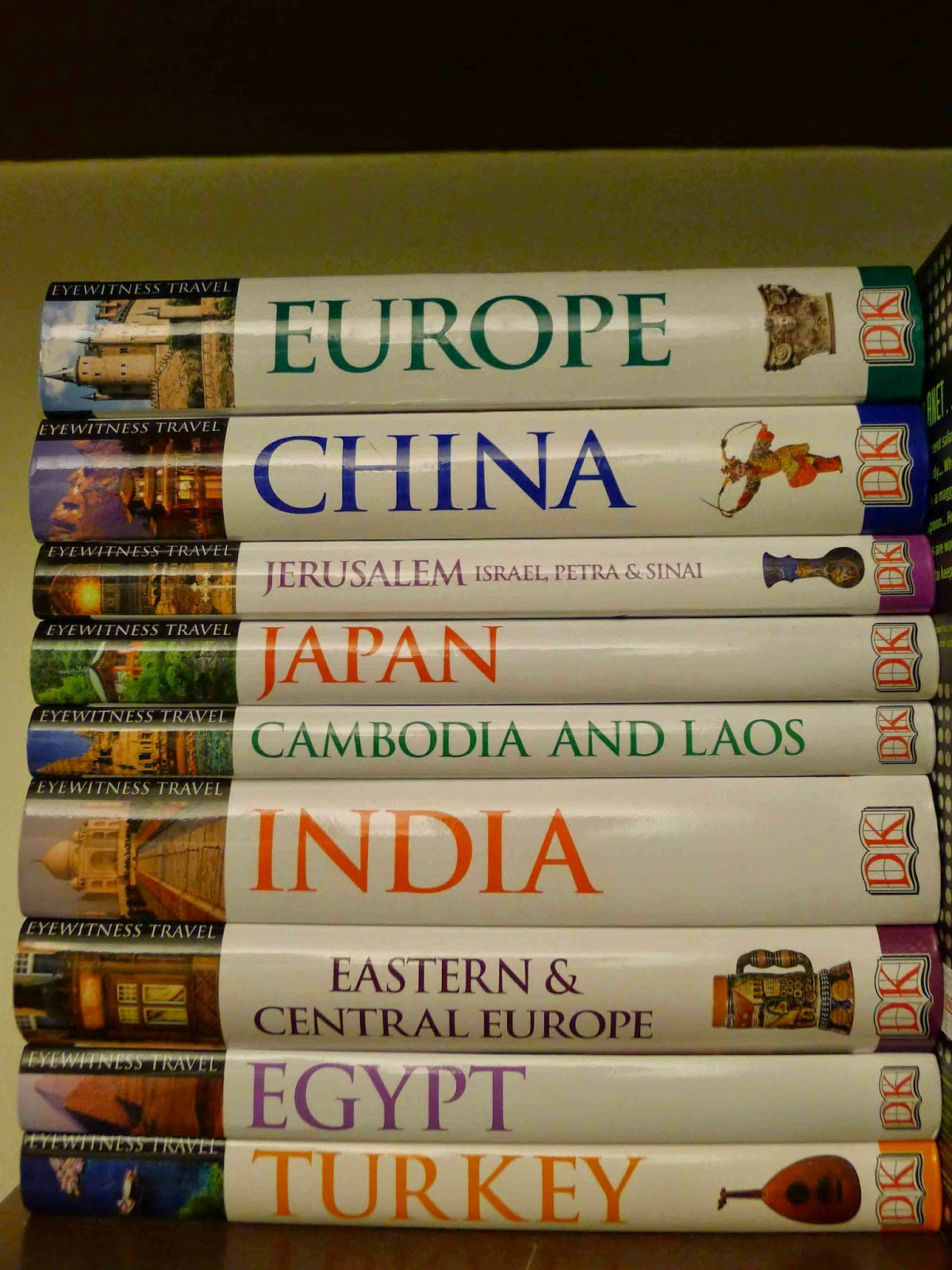 Travel Book Collection
