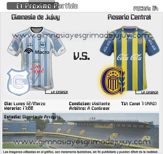 Fecha 24: Gimnasia de Jujuy vs Rosario Central