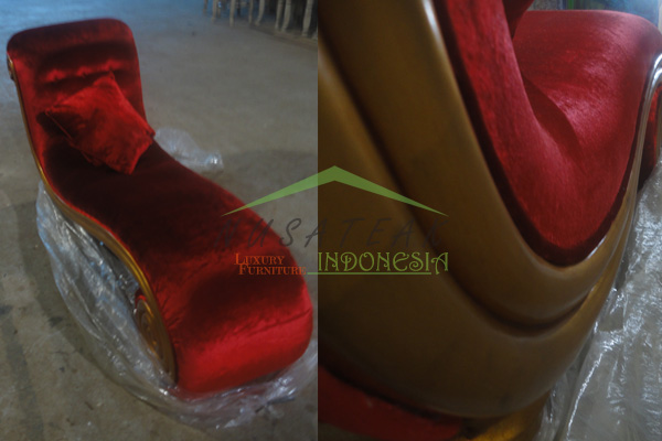 Sindoro Chaise Lounge Sofa - Nusa Teak