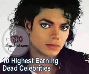 Top 10 Highest Earning Dead Celebrities