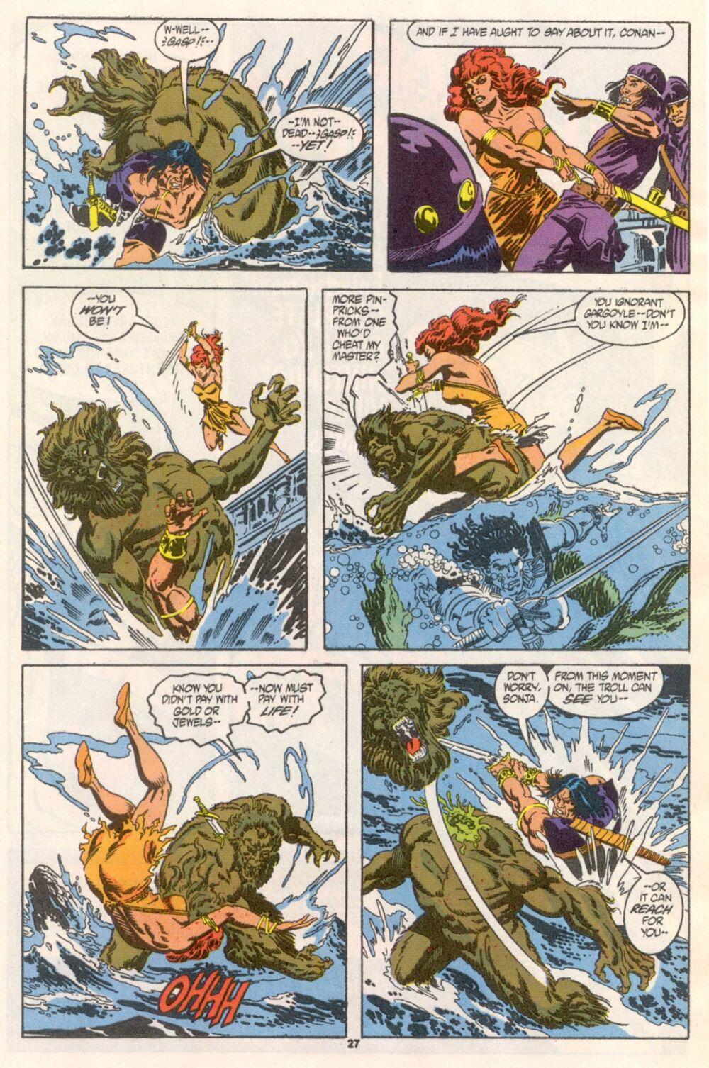 Conan the Barbarian (1970) Issue #241 #253 - English 21