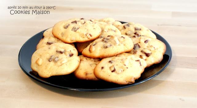 Cookies fait Maison