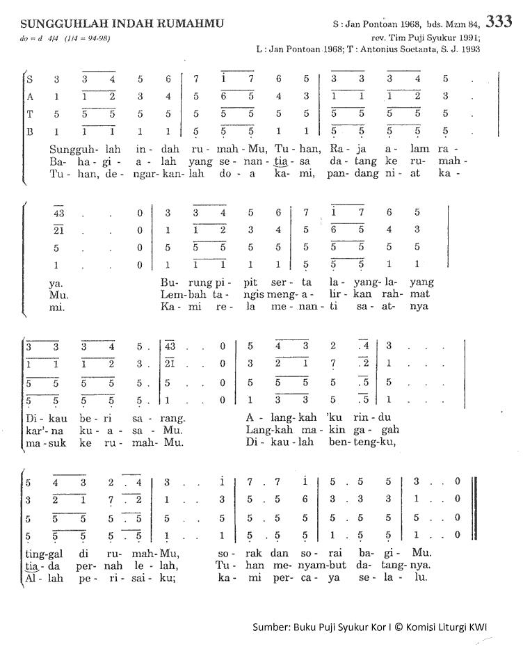 Chord Gitar Lagu Rohani Dia Raja: Lirik Dan Chord Lagu Sunggulah Indah RumahMu