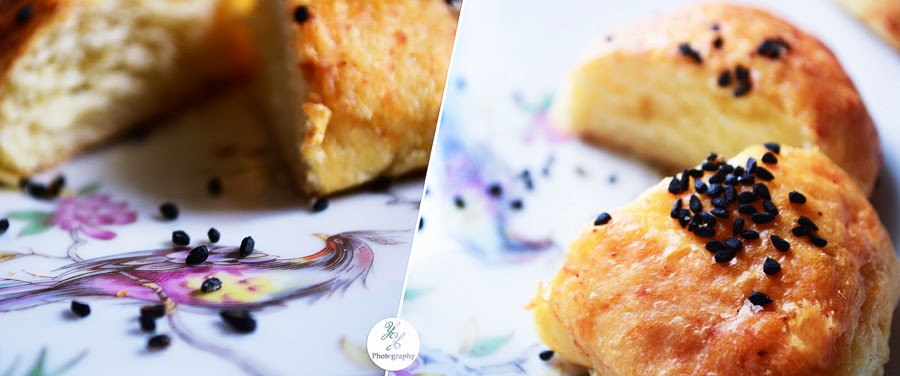 Cheese Baked With Nigella Sativa - Y&Y Photography