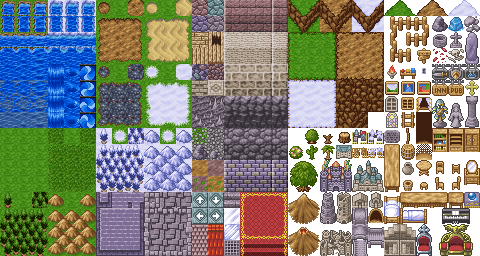 Trigun RPG Project of Awesome: Chipsets (aka background tiles)
