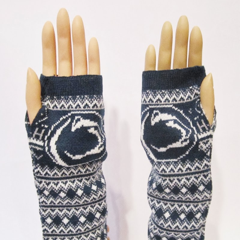 Penn State NCAA Arm Warmers