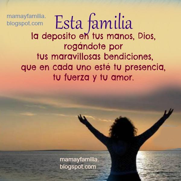 Dios ayuda a mi familia oraciones poderosas hijos bendiciones mery bracho