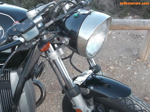 bmw r27 headlight