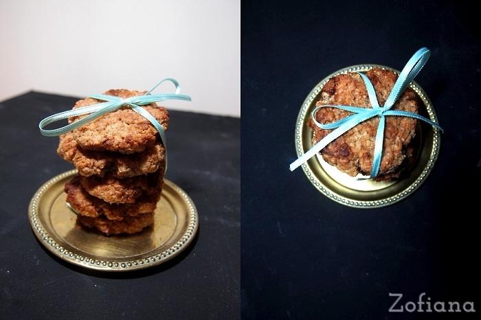 Coconut Milk Oatmeal Cookies