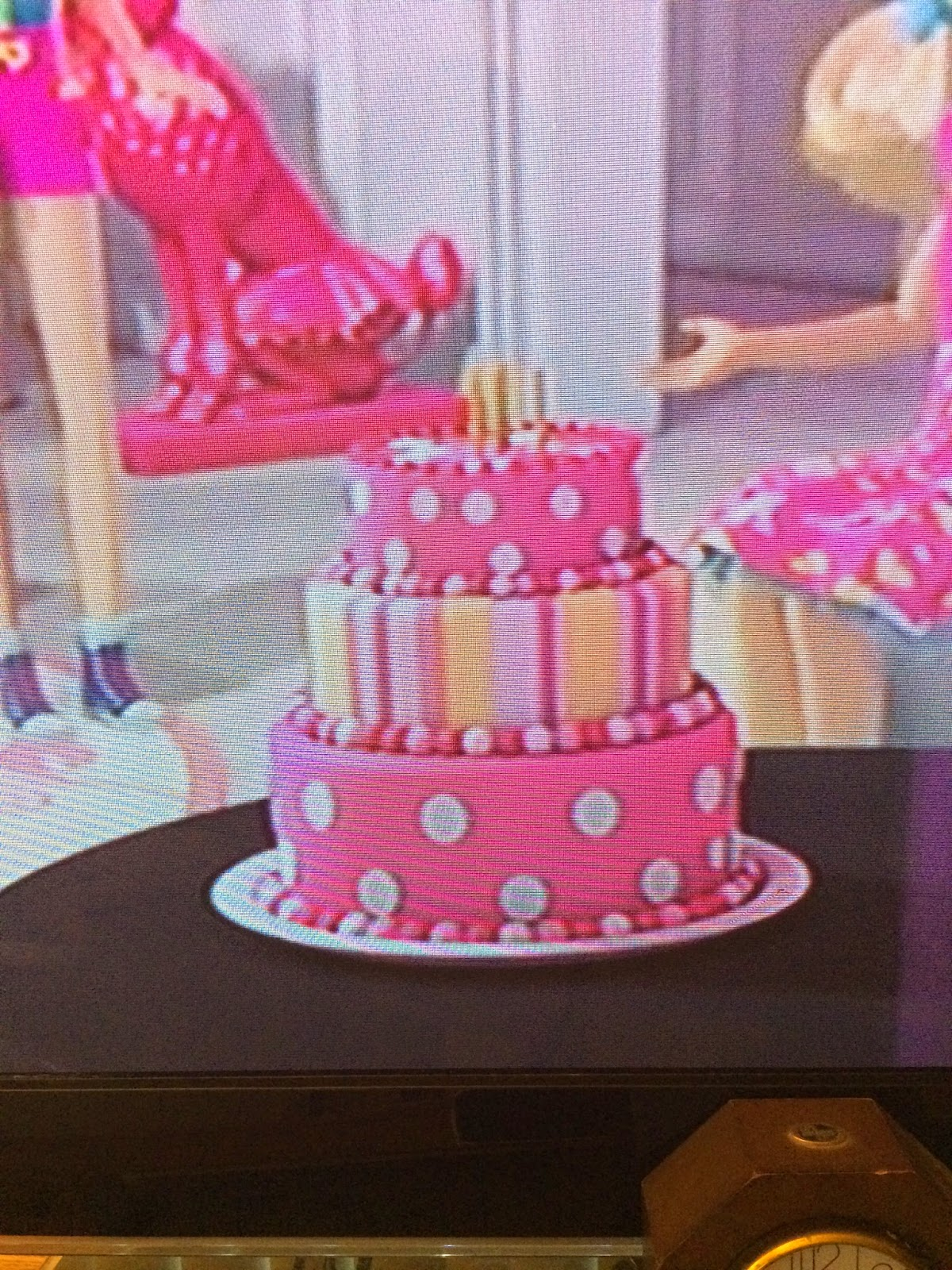 Cookied Oh Barbie Birthday Cake