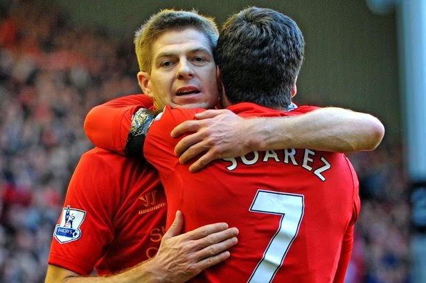 Suarez Beri Pesan Perpisahan Special Untuk Gerrard