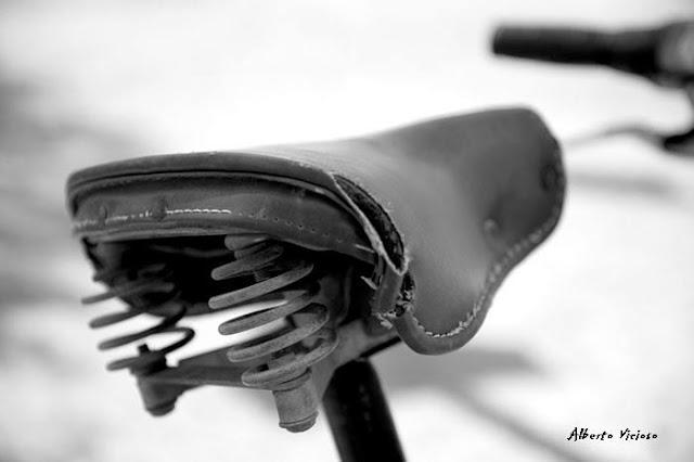 Alberto Vicioso Salamana en bici