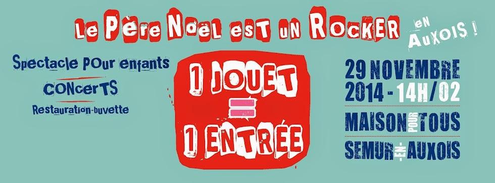 Le Père Noël est un rocker... en Auxois !