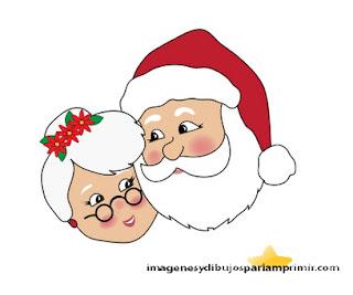 Santa claus y mama claus
