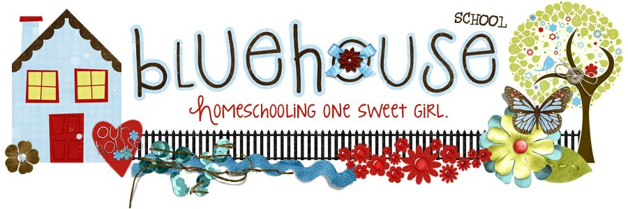 Blue House School - Homeschooling one sweet girl!