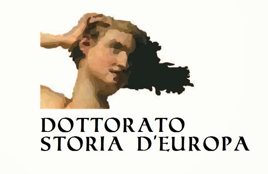 Dottorato Storia d'Europa