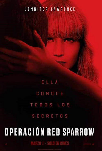 Red Sparrow (2018) 720p y 1080p HDRip mkv Dual Audio