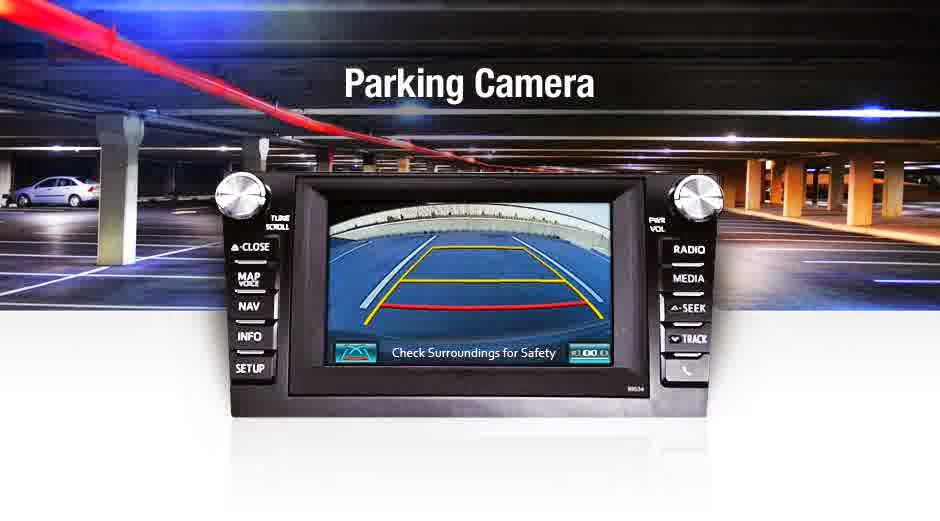 parking camera toyota camry 2015