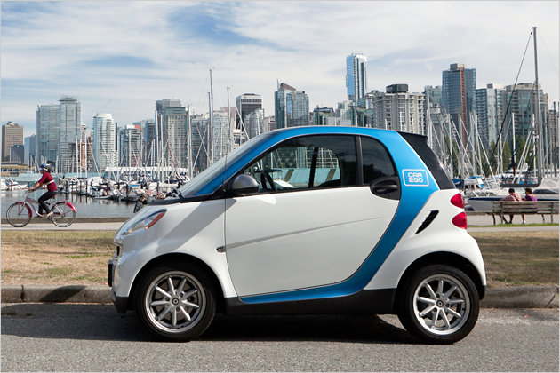 car2go to Canada