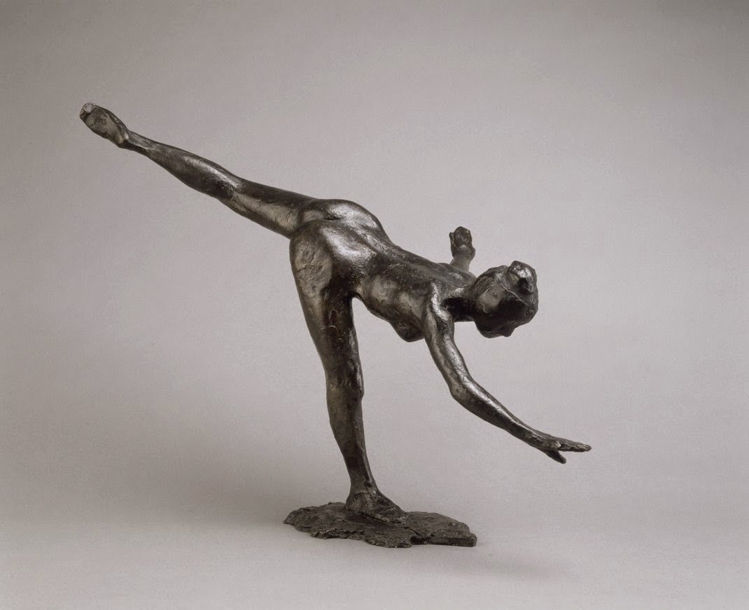 Degas - Danseuse - grande arabesque