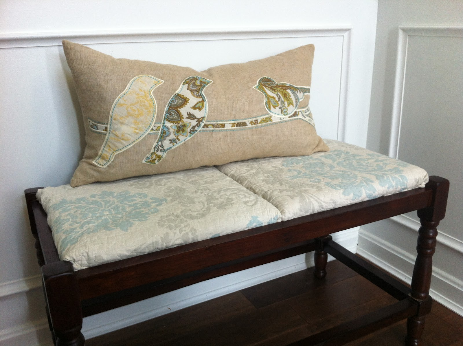 rush chair seat cushions. this is a very easy \u0027cheaters\u0027 version of upholstering rush seat bench quickly using ready-made materials. it can actually be used for any chair cushions