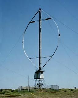 foto de molino eolico vertical